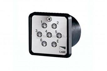 Клавиатура кодовая 7-кнопочная / встраиваемая CAME 001S6000