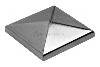 ROOF 5 S заглушка для столба квадратная оцинкованная 55 мм 1700070