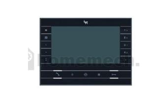 """FUTURA X2 BK Абонентское устройство hands-free с цветным 7"""" дисплеем, сенсорными клавишами, подключение к 4-проводным панелям, цвет чёрный лак 62100550"""